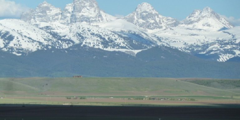 grand teton from property